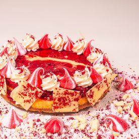 Red Velvet Ripple cheesecake