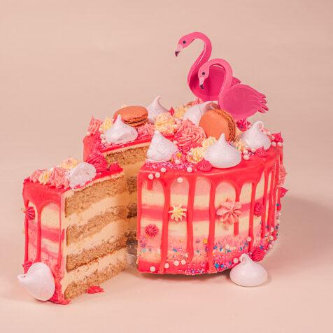 Fabulous Flamingo cake