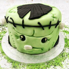 Frankenstein's monster cake!